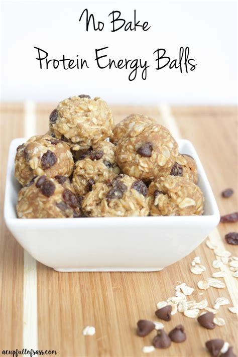 protein energy balls no bake protein energy balls a cup of sass