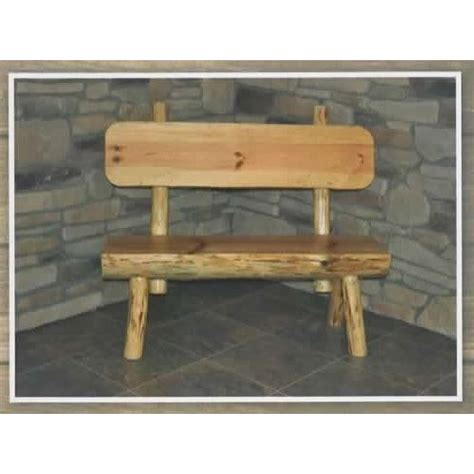 outdoor log furniture outdoor log furniture collection half log bench amish crafted furniture