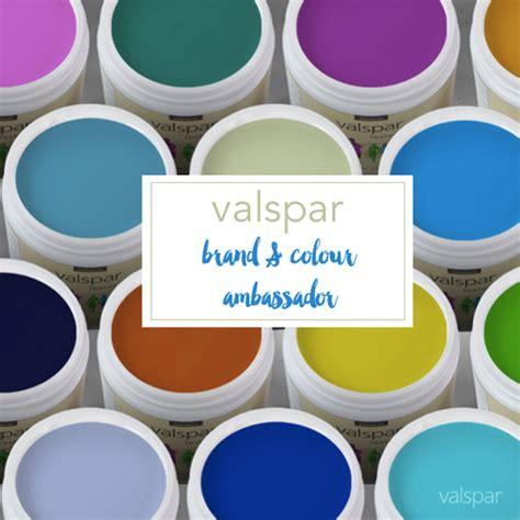 valspar uk i m valspar paint s brand colour ambassador bright