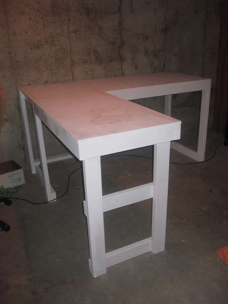 diy corner desk  file cabinets woodworking projects plans