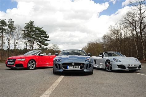 Jaguar F Type vs rivals   Auto Express