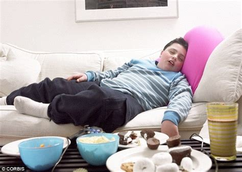 slouching on the couch comfortable clothing simply encourages us to get fatter