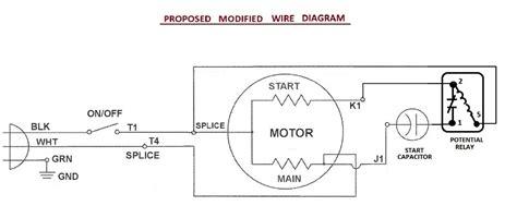 wiring run capacitor wiring diagram images database