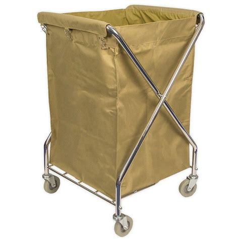 Viva Brite Folding Laundry Trolley 215l Foldable Laundry