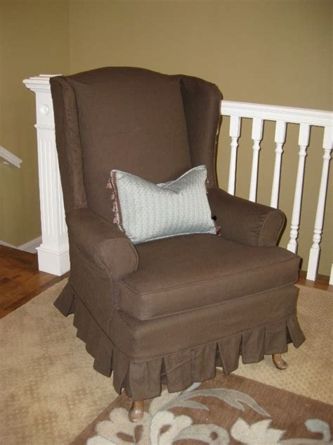 wing chair slipcover target wingback chair slipcovers target