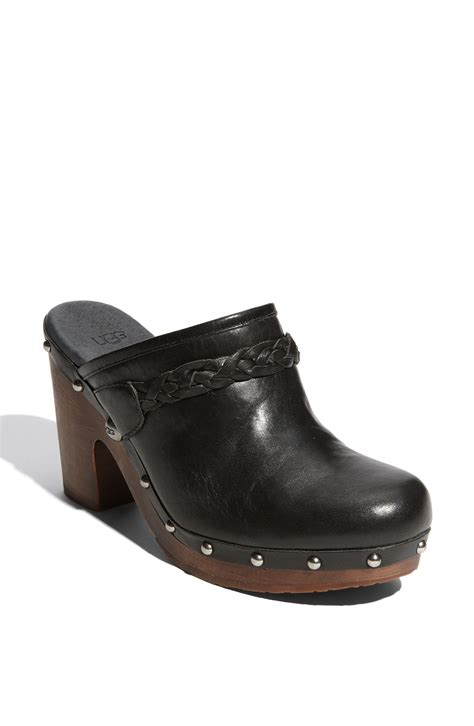 ugg clogs for ugg clogs in black lyst