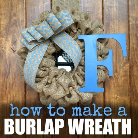 how to make a wreath with burlap how to make burlap wreath one crazy mom