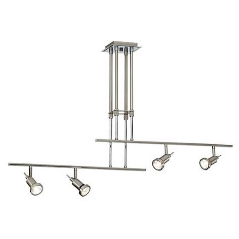 two rail adjustable 4 light ceiling fixture k6811
