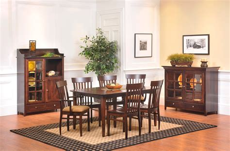 Shaker Style Dining Room Furniture Shaker Dining Room Amish Furniture Designed