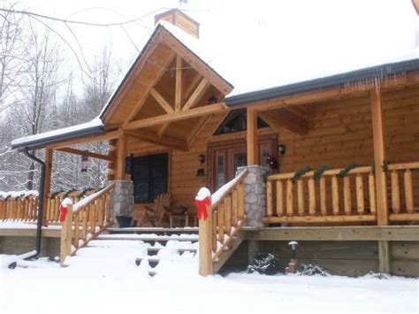 Brown County Cabins With Tub by Adventurewood Log Cabin Nashville In W Tub Fireplace