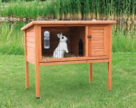 Rabbit Hutches For Sale Cheap How To Build A Diy Rabbit Hutches In Four Easy Steps