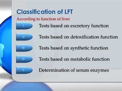 Function Detox Test by Liver Function Tests Ppt Biochemistry