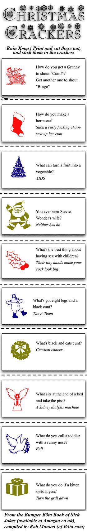 christmas cracker mottos jokes cracker mottos jokes