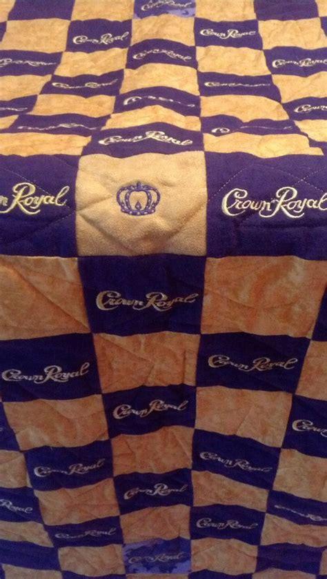 crown royal comforter erika s finished crown royal quilt