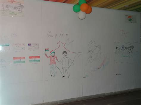 drawing themes for independence day sparx it solutions celebrated 68th independence day of india
