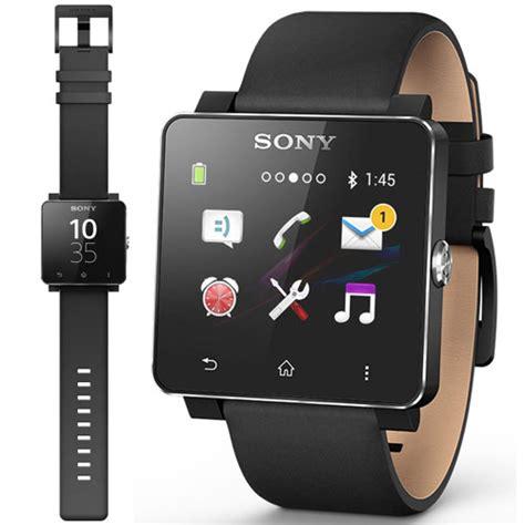 Jam Smartwatch 2 Se20 new genuine sony se20 leather wrist band for smartwatch 2 in black ebay