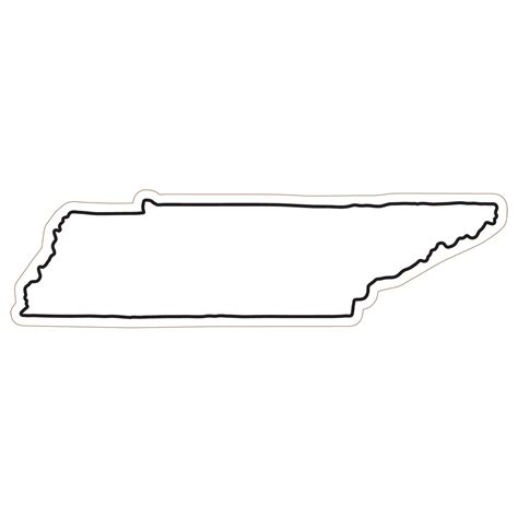 State Of Tennessee Outline by Best Photos Of Tennessee State Shape Tennessee State Outline Template Tennessee State Outline