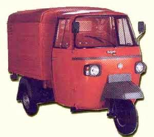 piaggio ape delivery van review  images