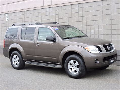 pathfinder nissan 2008 used 2008 nissan pathfinder leather sl at auto house usa