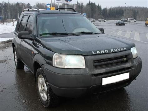 land rover freelander 2000 2000 land rover freelander pictures