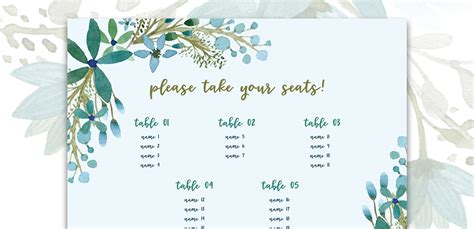 wedding font for seating chart create a wedding seating chart using data merge in