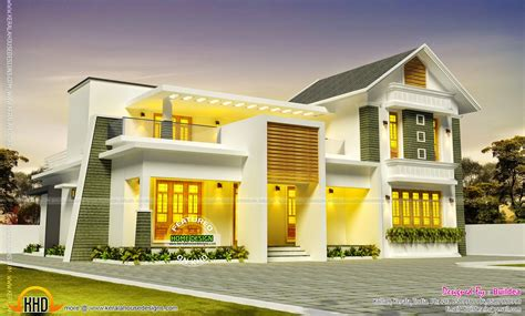 Beautiful House Design In Kollam Kerala Home Design And House Plans Kerala Kollam