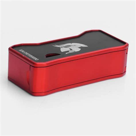 The Dagger Box Mod 80w Black Authentic authentic cks dagger 80w zinc alloy 18650 tc vw box mod
