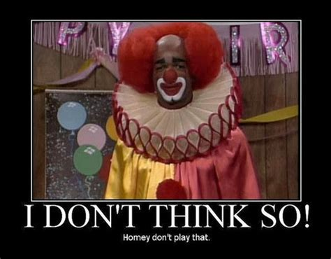in living color clown be still a minute evolution of a clown