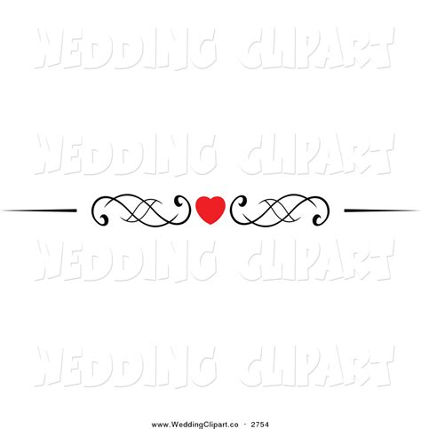 Wedding Border Hearts by Design Clipart Pencil And In Color Design Clipart