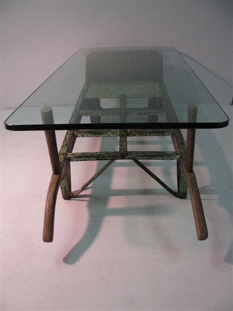 Industrial Cocktail Table by Industrial Coffee Cocktail Table For Sale At 1stdibs