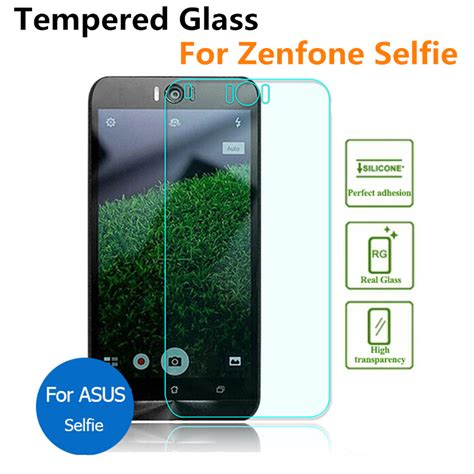 Silver Tempered Glass 9h Asus Zenfone Selfie Zd551kl 55 2 pcs premium for asus zenfone selfie zd551kl tempered glass screen protector zd551 2 5d 0 3mm