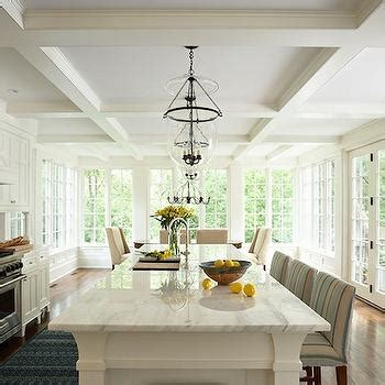 Kitchen Coffered Ceiling Design Ideas