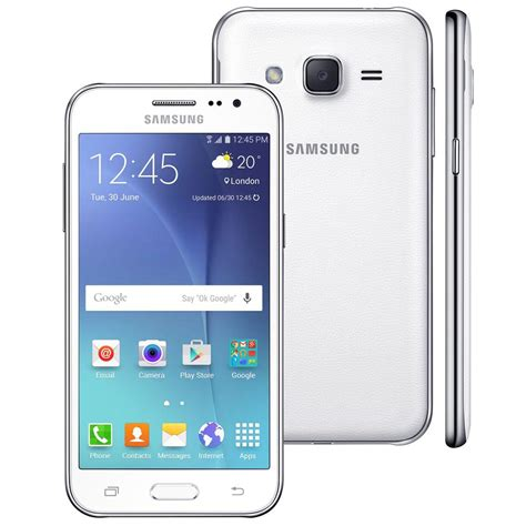 Smartphone Tv Digital smartphone samsung galaxy j2 tv duos branco dual chip