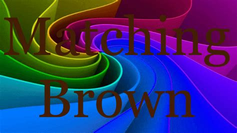 colors that match brown 28 colors that match with brown paint colors that