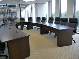 U Shaped Conference Table Dimensions New Office Conference Tables Custom Horseshoe Or U Shaped Table At Furniture Finders