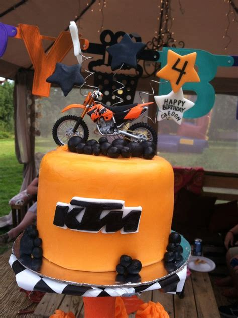 Ktm Bike Cake 17 Best Images About Birthday On Birthdays