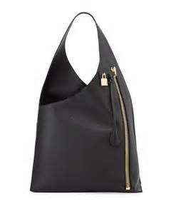 tom ford alix zip hobo bag black