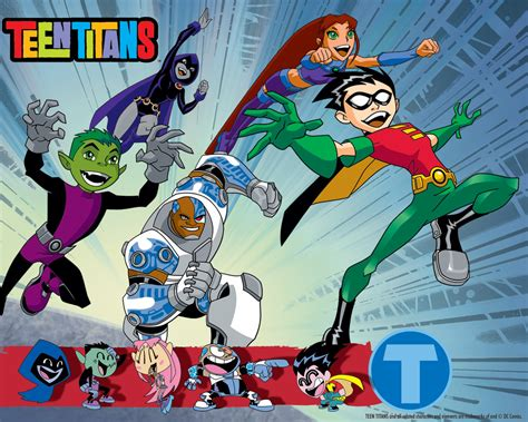 teen titans teen titans wallpaper 9733643 fanpop