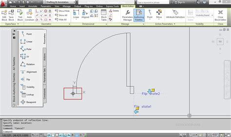 tutorial autocad dynamic blocks flip feature dynamic block tutorial in autocad