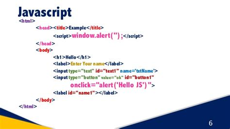 javascript tutorial script javascript dom part 1 javascript tutorial for