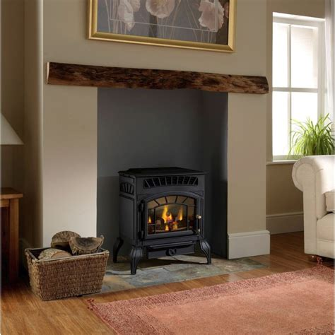 flueless gas stove burley ambience 4121 log effect gas