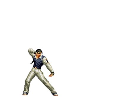 imagenes con movimiento de king of fighter robert garcia animations 8