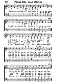 swing low sweet chariot acapella negro spiritual public domain 4u