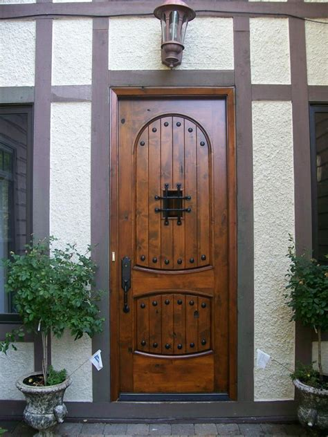 cool front door designs  houses page
