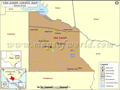 map of zandt county texas zandt county map texas