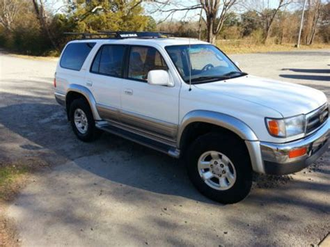 Toyota Greenbrier Buy Used 1998 Toyota 4 Runner In Greenbrier Arkansas