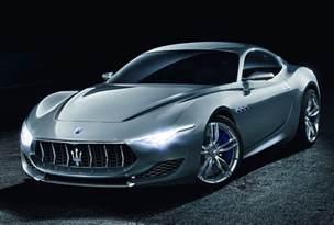 The Maserati Look At The Maserati Alfieri Concept