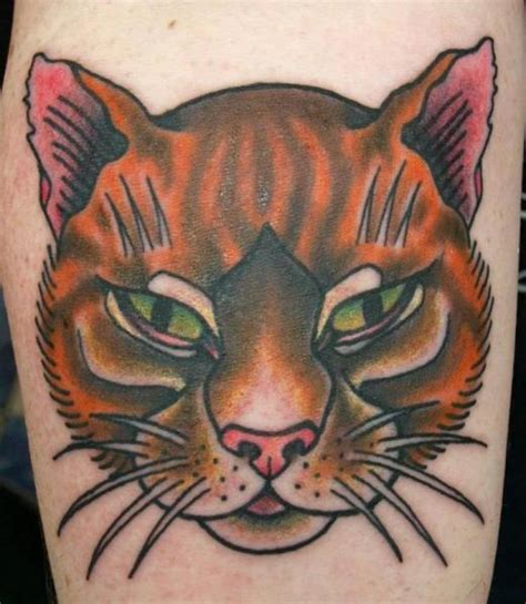 tattoo old school cat new school cat tattoo by no regrets studios