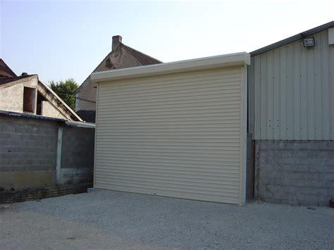 garage rideau rideau metallique garage best rideau mtallique serrure