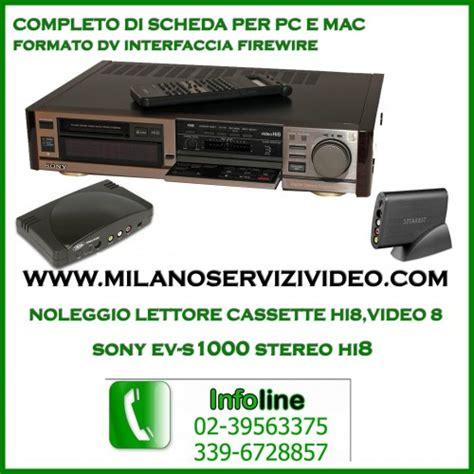 adattatore cassette 8mm da vhs a dvd da mini dv a cd dvd passaggio travaso